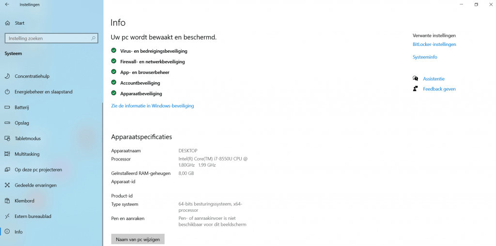 windows-10-instellingen-menu
